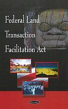 Federal Land Transaction Facilitation Act