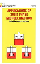 Applications of solid phase microextraction
