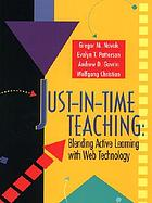 Just-in-time teaching : blending active learning with web technology
