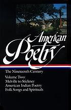 American poetry : the nineteenth century.