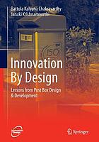 Innovation by design : lessons from post box design & development