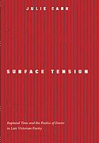 Surface tension : ruptural time and the poetics of desire in late Victorian poetry