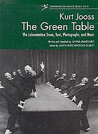The green table : a dance of death in eight scenes