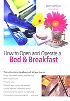 How to open and operate a bed & breakfast