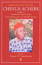The master artist : critical perspectives on Achebe's fiction