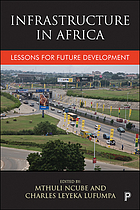 Infrastructure in Africa : lessons for future development