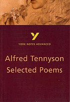 Alfred, Lord Tennyson selected poems : note