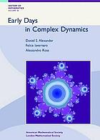 Early days in complex dynamics : a history of complex dynamics in one variable during 1906-1942
