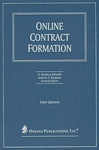 Online contract formation