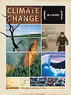 Climate change : in context