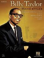 Billy Taylor : piano styles.
