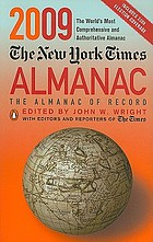 The New York Times 2009 almanac
