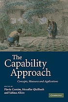 The capability approach : concepts, measures and applications