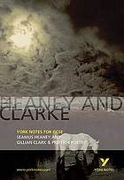 Heaney and Clarke & pre-1914 poetry : notes
