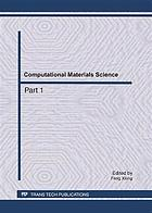 Computational materials science : selected, peer reviewed papers from the 2011 International Conference on Computational Materials Science, in April 17-18, Guangzhou, China