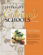 Peterson's culinary schools.