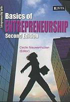 Basics of entrepreneurship