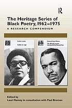 The Heritage series of Black poetry, 1962-1975 : a research companion