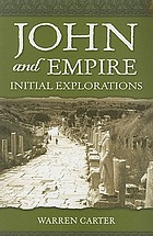 John and empire : initial explorations