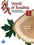 World of reading : a thematic approach to reading comprehension