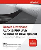 Oracle database AJAX & PHP web application development