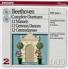 Complete overtures 12 minuets ; 12 German dances ; 12 contredanses