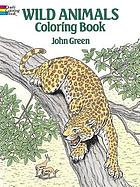 Wild animals : coloring book