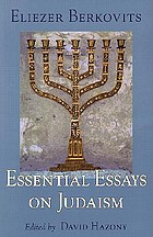 Essential essays on Judaism