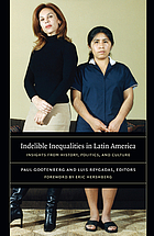 Indelible inequalities in Latin America : insights from history, politics, and culture