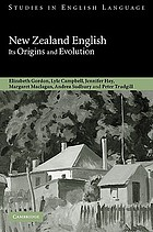 New Zealand English : its origins and evolution