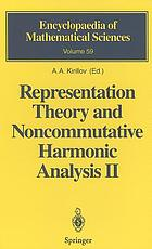 Representation theory and noncommutative harmonic analysis II