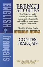 French stories = Contes français : with translations, critical introductions, notes, and vocabulary by the editor
