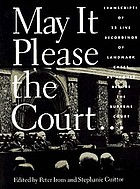 May it please the Court [Kassetten]