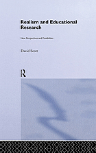 Realism and educational research : new perspectives and possibilities
