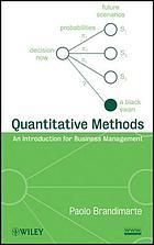 Quantitative methods : an introduction for business management