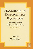 Handbook of differential equations : ordinary differential equations. Volume 4