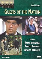 Guests of the nation : a play
