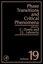 Phase transitions and critical phenomena. / Volume 19