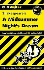 CliffsNotes Shakespeare's A midsummer night's dream