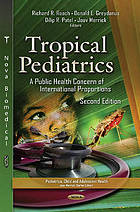 Tropical pediatrics : a public health concern of international proportions
