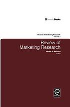 Review of marketing research. Vol. 2