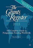 The grants register 2015.