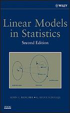 Linear models in statistics