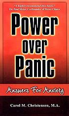 Power over panic : answers for anxiety