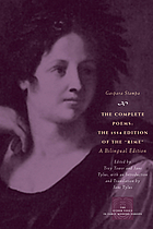 The complete poems : the 1554 edition of the Rime, a bilingual edition