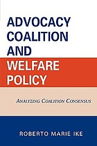 Advocacy Coalition and Welfare Policy cover image