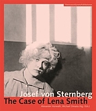 Josef von Sternberg: the Case of Lena Smith