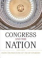Congress and the Nation : a review of government and politics in the postwar years.