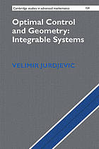 Optimal control and geometry : integrable systems