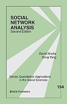 Social Network Analysis cover image